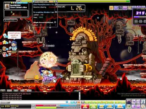 Maplestory Battle Mage Zakum Solo (After Revamp 2015)