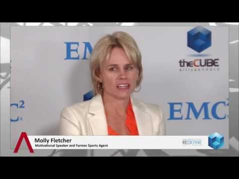 Molly Fletcher & Rosario Marin - EMC World 2014 - theCUBE - #EMCWorld