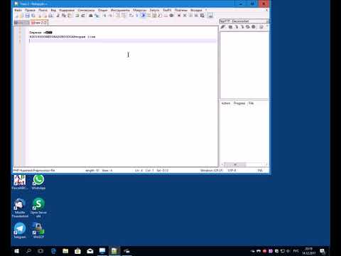 Какие программы для веб разработки использует незрячий вебмастер Денис Скрипник, часть 1: notepad++