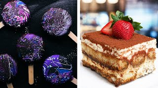 Galaxy Ice Cream Pops & Yummy Tiramisu Cake Recipe | Cake Decoration & Dessert Ideas by So Yummy