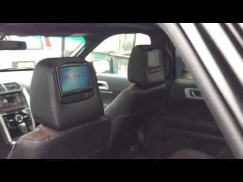 Ford Explorer Headrest Dvd Youtube