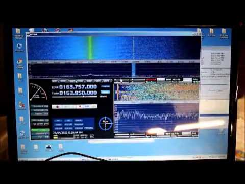 $30 USB 60 - 1700Mhz Software Defined Radio Receiver first test