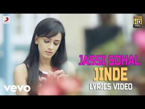 Jinde - Lyrics Video | Jassi Sohal