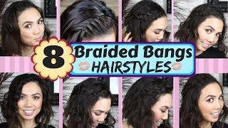 8 Braided Bangs Hairstyles for BEGINNER   Headband Braids   Angel Braids