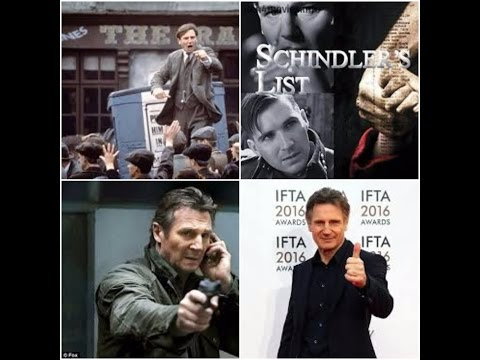 Liam Neeson at the IFTA Film and Drama Awards 2016