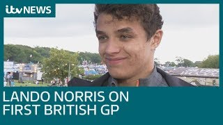 New F1 star Lando Norris on Lewis Hamilton comparisons | ITV News