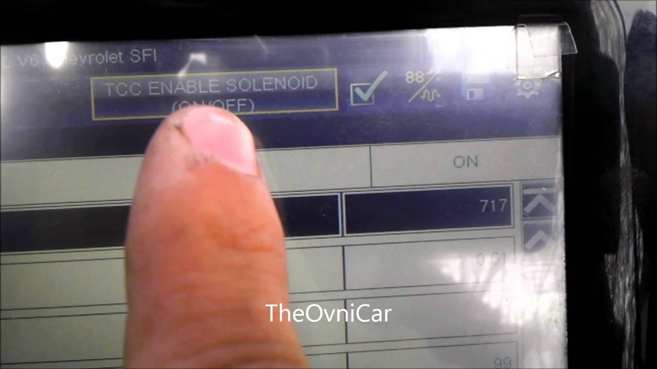 4t60 E Codigo P0753 1 2 Shift Solenoid Circuit Fault Youtube