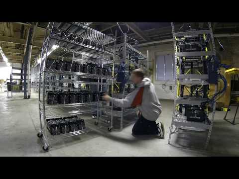 Bitcoin Mine Timelapse Upgrading To New Technology