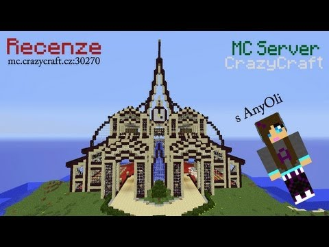 Recenze na Minecraft server CrazyCraft s AnyOli [OndraLP]