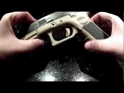ARMY Glock 17 (Airsoft) - Cómo desarmar la réplica y llegar al Hop-Up