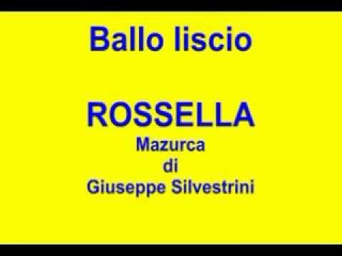 Ballo liscio – ROSSELLA – Mazurca – Giuseppe Silvestrini