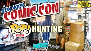 NYCC 2016 Funko Pop Hunting and More