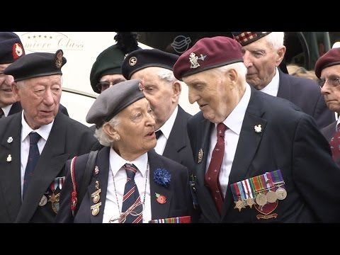 Veterans Prepare to Mark 70th Anniversary of D-Day 02.06.14