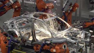 BMW 3 Series Production, BMW Munich Plant Body Shop