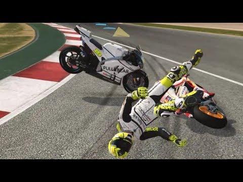 MotoGP 17 - Crash Compilation #3 (PC HD) [1080p60FPS]