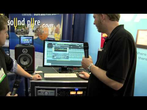 Waves HEQ Hybrid Equalizer Plugin Demo - AES 2011