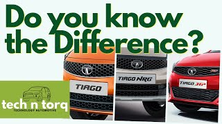 Differences between TIAGO JTP and TIAGO NRG