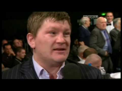 Ricky Hatton On Problems With Floyd Mayweather Snr