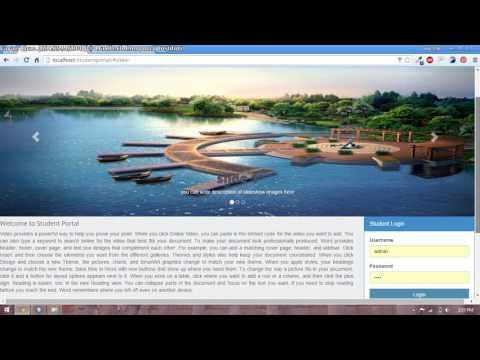 30 – Student Portal in PHP/MySQL (Pashto)