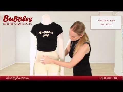 Pick-Me-Up Butt Lifter Boxer By Bubbles Bodywear
