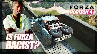 Is Forza Horizon 4 Racist? (Funny Moments)
