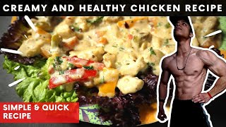 """This Healthy Chicken Recipe Will Make You Love Your """"BORING DIET"""" (BUILD MUSCLE) 