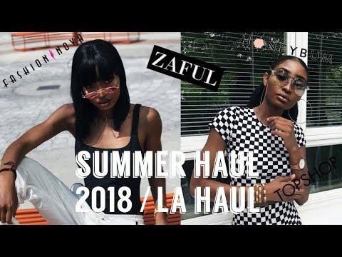 2018 SUMMER HAUL/ LA HAUL | WIG GIVEAWAY!!!!!!