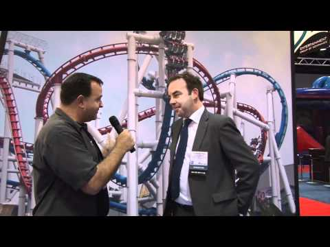 IAAPA 2011 Trade Show Part 6 Theme Park Review Vekoma WhiteWater Maurer Söhne