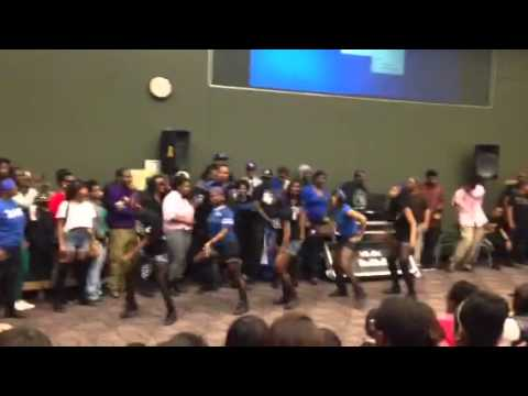 Winners of MSU Stroll Off 2013 Zeta Phi Beta Sorority Inc.