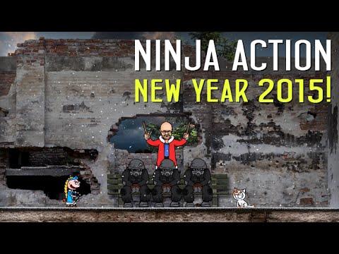 Ниндзя в деле новогодний выпуск 2015