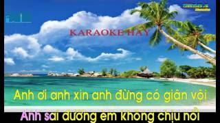 Giận mà thương Thu Hiền Karaoke