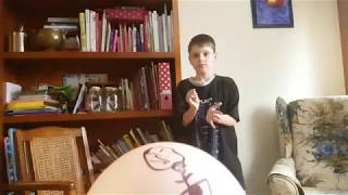 EPIC slow motion balloon **POP**!!