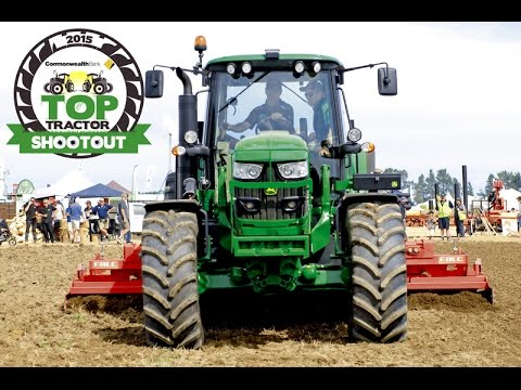 Top Tractor Shootout John Deere 6150M   Farms & Farm Machinery