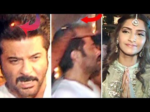 Oops! Anil Kapoor's Hair Gets Burnt During Diwali video