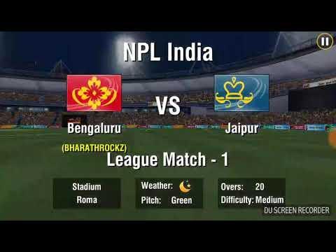 Royal challangers banglore vs jaipur    (2018) wcc2