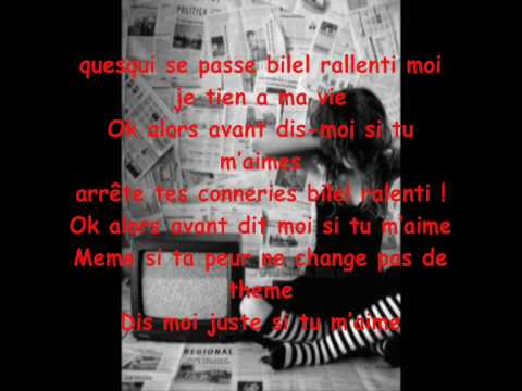 j'ai perdu l'homme de ma vie avec paroles =D - YouTube