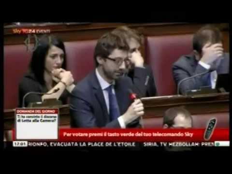 M5S: On. Andrea Colletti alla Camera   29 aprile 2013