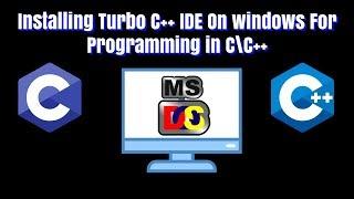 Installing Turbo C++ For C Programming !