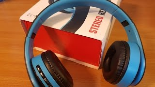 Package from Aliexpress #82 deep bass headphones