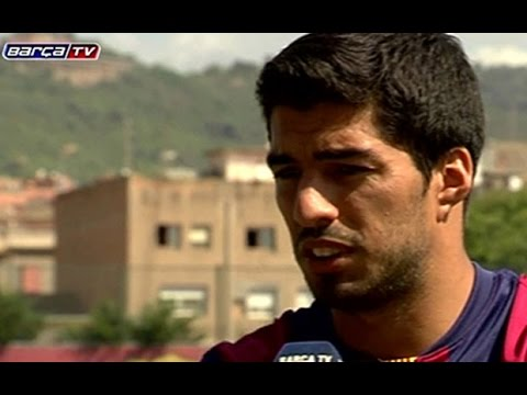 Luis Suarez: I am so happy to be training again at Barcelona