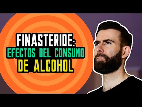 ¿Qué ocurre si consumes alcohol y finasteride al mismo tiempo?