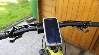 Quad Lock Bike Smartphone Mounting Review and Demo Video