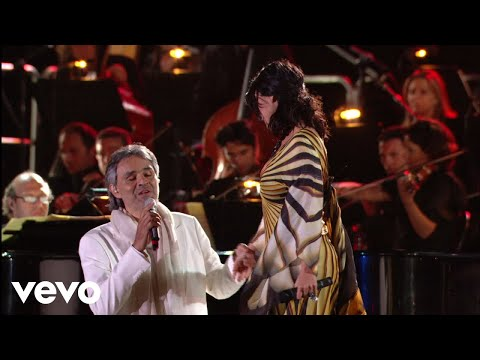 Andrea Bocelli, Laura Pausini  Dare To  HD ft Laura Pausini
