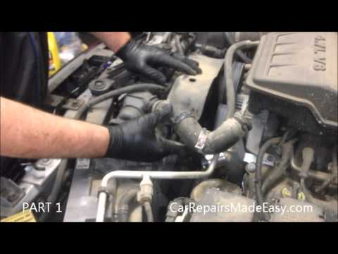 Dodge Durango Water Pump Replacement Part 1