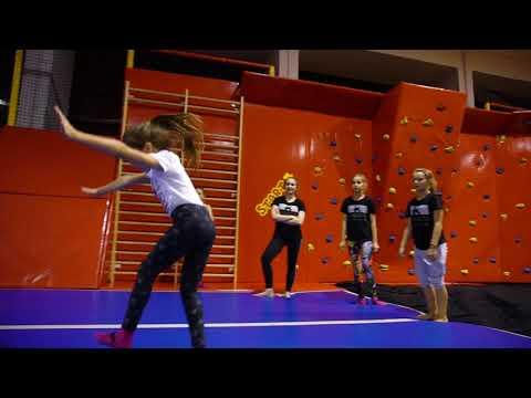 Akrobatyka Białystok - Trening W Park Trampolin ''Jumper''