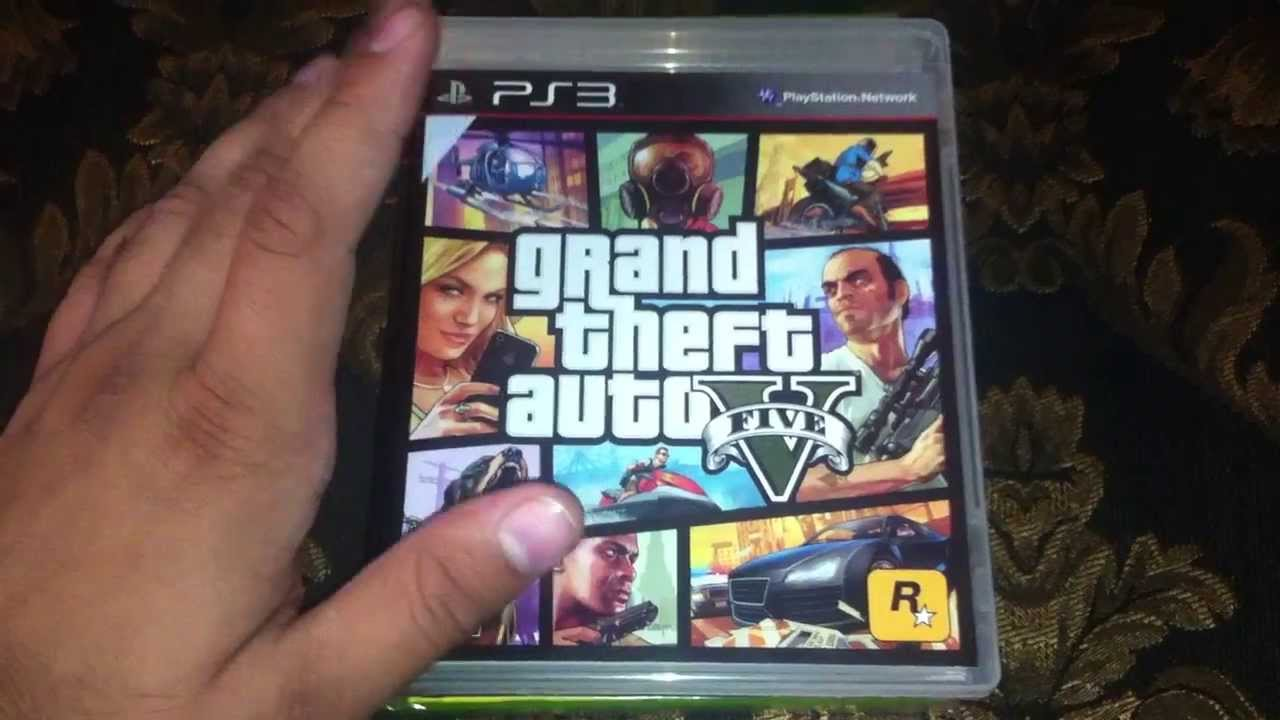Grand Theft Auto 5 PS3 Unboxing And Giveaway YouTube