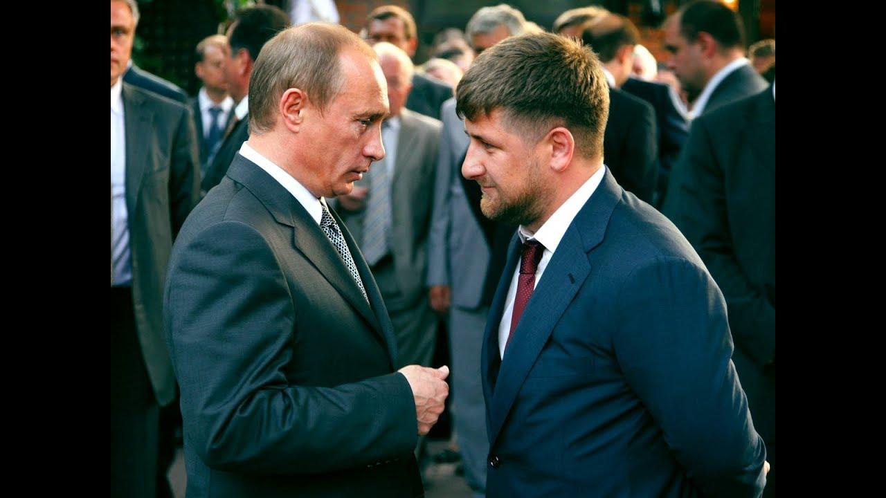 Путин встретил новый год в чечне