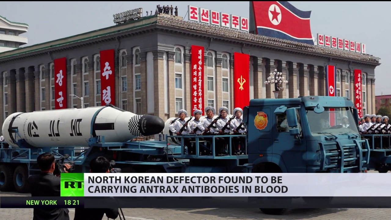 New threat: North Korean defector found to be carrying Anthrax antibodies in blood