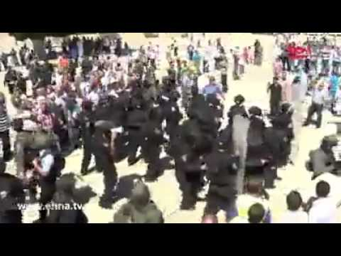 22 Palestinians arrested, 2 policemen hurt in Temple Mount clashes (Rosh Hashana riots) Sep 2013
