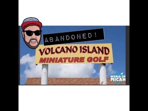 ABANDONED VOLCANO ISLAND MINITURE GOLF! (WORLD OF MICAH)